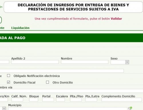 COMO RELLENAR EL MODELO 169 (PAGO RESIDENCIA)